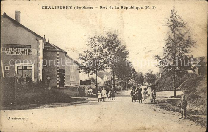 Chalindrey Rue de la Republique / Chalindrey /Arrond. de Langres