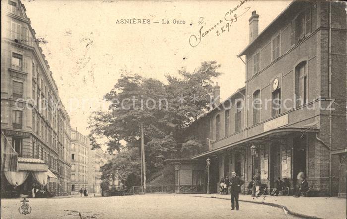 Asnieres-sur-Seine La Gare / Asnieres-sur-Seine /Arrond. de Nanterre