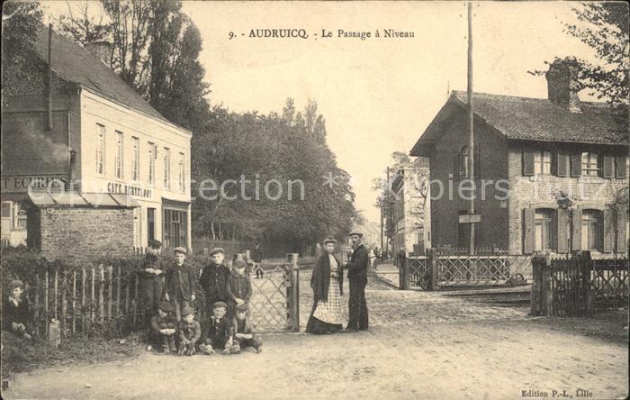 Audruicq Passage a Niveau / Audruicq /Arrond. de Saint-Omer