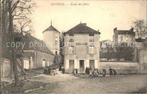 Septeuil Ecole des filles / Septeuil /Arrond. de Mantes-la-Jolie