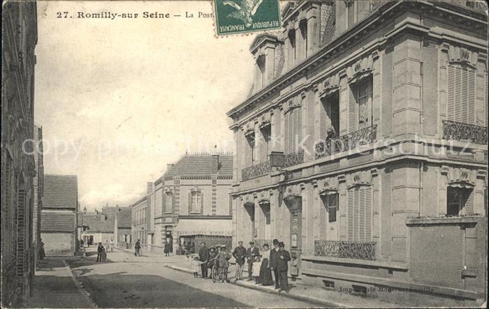 Romilly-sur-Seine La Poste / Romilly-sur-Seine /Arrond. de Nogent-sur-Seine
