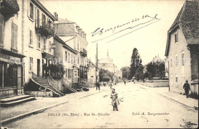 Delle Belfort Rue St Nicolas / Delle /Arrond. de Belfort