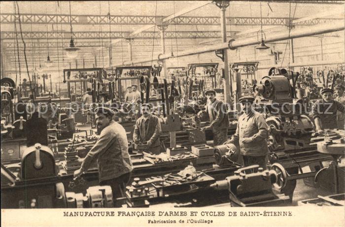 Saint-Etienne Loire Manufacture Francaise d'Armes et Cycles / Saint-Etienne /Arrond. de Saint-Etienne