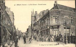 Albert Somme Rue Carnot / Albert /Arrond. de Peronne