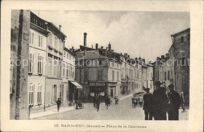 Bar le Duc Lothringen Place de la Couronne / Bar-le-Duc /Arrond. de Bar-le-Duc