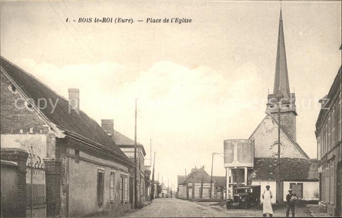 Bois-le-Roi Eure Place de l'Eglise / Bois-le-Roi /Arrond. d Evreux