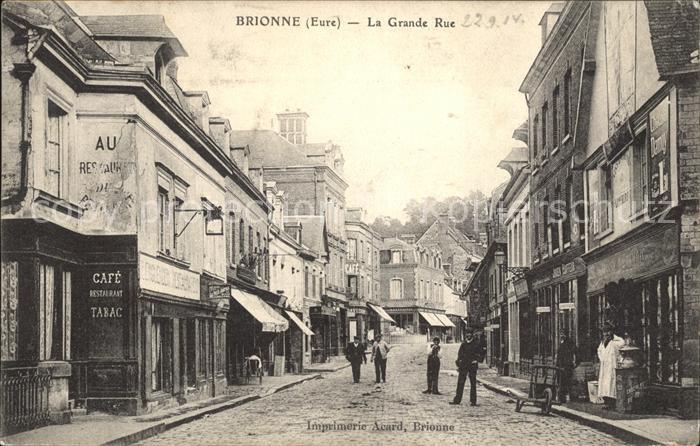 Brionne La Grande Rue / Brionne /Arrond. de Bernay