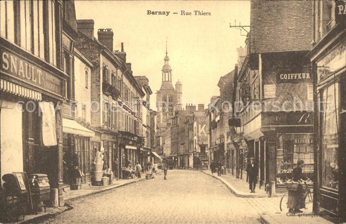 Bernay Rue Thiers Eglise / Bernay /Arrond. de Bernay
