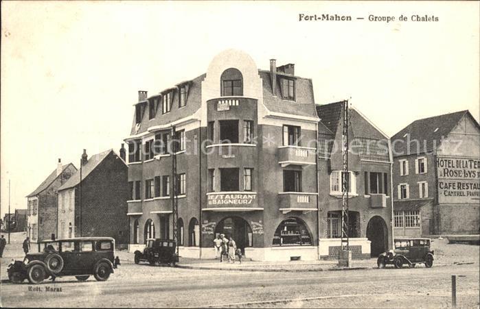 Fort-Mahon-Plage Groupe de Chalets / Fort-Mahon-Plage /Arrond. d Abbeville