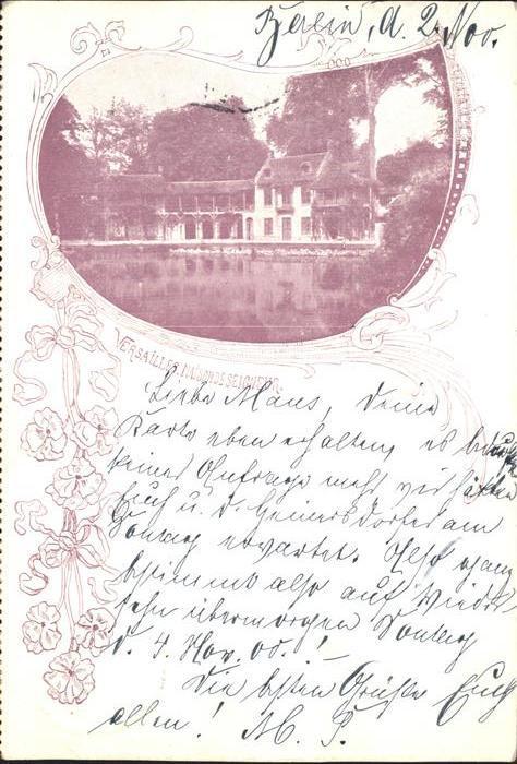 Versailles Yvelines Maison de Seigneur / Versailles /Arrond. de Versailles