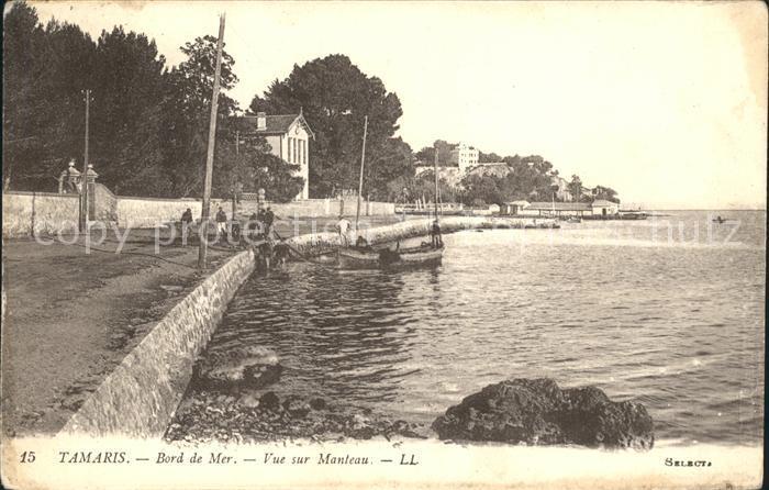 Tamaris Bord de Mer vue sur Manteau / La Seyne-sur-Mer /Arrond. de Toulon