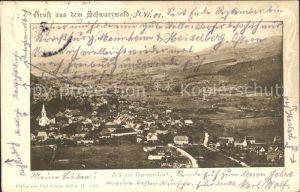 Zell Harmersbach  / Zell am Harmersbach /Ortenaukreis LKR