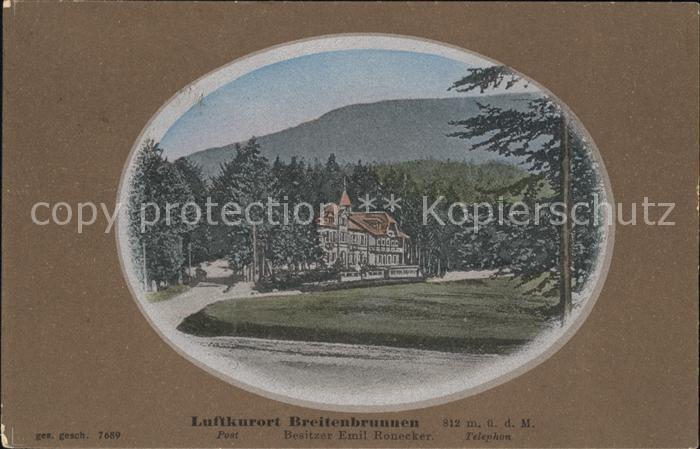 Breitenbrunnen  / Sasbachwalden /Ortenaukreis LKR