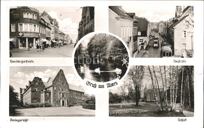 Moers Schloss Amtsgericht Hombergerstrasse  / Moers /Wesel LKR