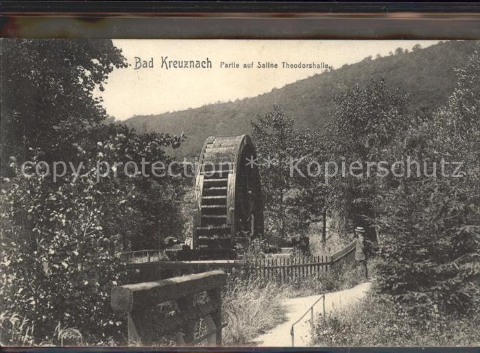 Bad Kreuznach Partie auf Saline Theodorshalle Kat. Bad Kreuznach