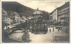 Wildbad Schwarzwald Trinkhalle Kat. Bad Wildbad