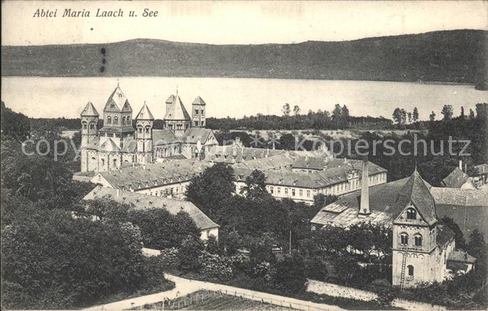 Maria Laach Glees Abtei Maria Laach See  / Glees /Ahrweiler LKR