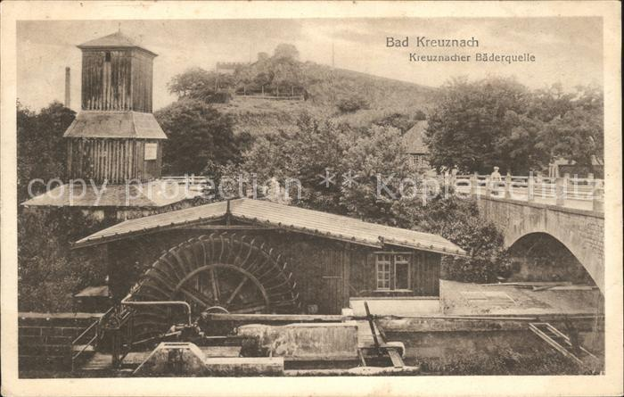 Bad Kreuznach Kreuznacher Baederquelle Kat. Bad Kreuznach