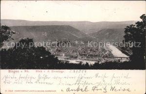 Bingen Rhein Blick v. d. Eremitage Kat. Bingen am Rhein