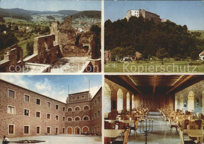Altleiningen Jugendherberge Burg Altleiningen Kat. Altleiningen Nr ...