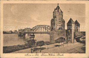 Mainz Rhein Kaiser Wilhelm Bruecke Serie 380 Nr. 14 / Mainz Rhein /Mainz Stadtkreis