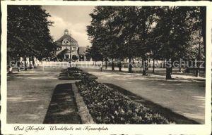 Bad Hersfeld Wandelhalle mit Konzertplatz 1200 Jahre Kat. Bad Hersfeld