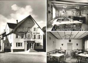 Wilhelmsdorf Wuerttemberg Gasthaus zur Post Kat. Wilhelmsdorf