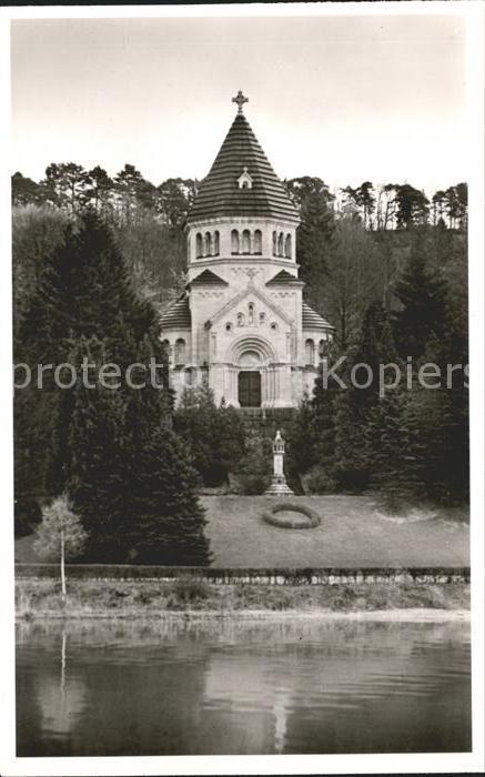 Berg Starnberg Schloss am Starnberger See Votiv Kapelle Kat. Berg