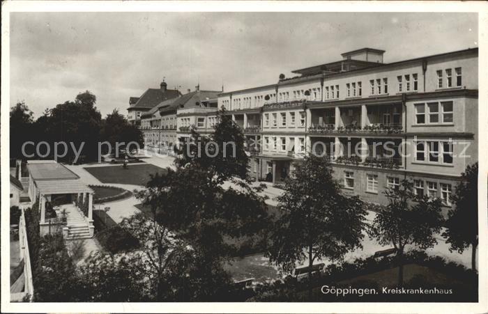 Goeppingen Kreiskrankenhaus Kat. Goeppingen