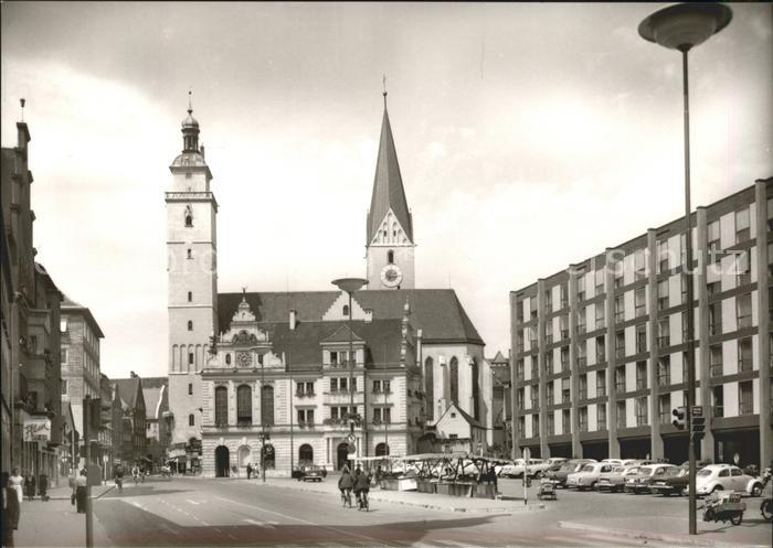 Ingolstadt Donau Am Rathaus Kat. Ingolstadt