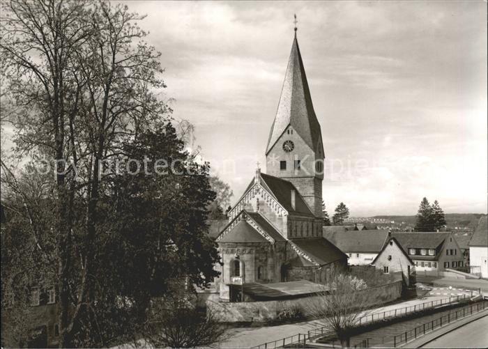 Faurndau Evangelische Kirche Kat. Goeppingen