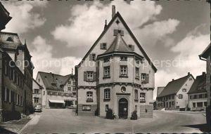 Langenau Wuerttemberg Rathaus / Langenau /Alb-Donau-Kreis LKR