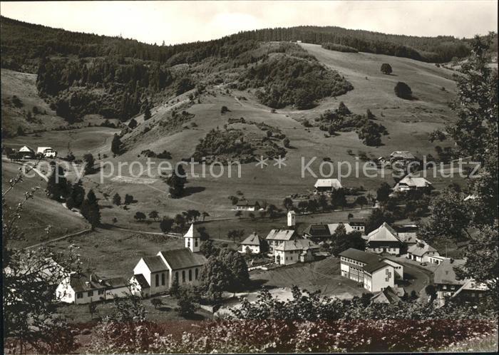 Wieden Schwarzwald Gasthof zum Hirschen Kirche  / Wieden /Loerrach LKR