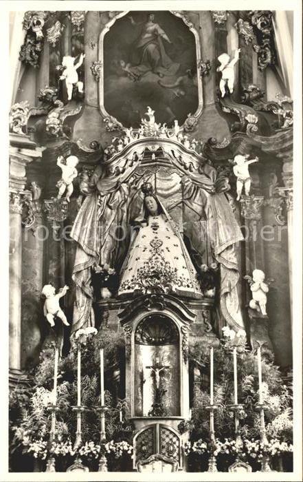Todtmoos Hochaltar der Wallfahrtskirche Kat. Todtmoos