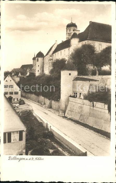 Dillingen Donau Schloss Kat. Dillingen a.d.Donau