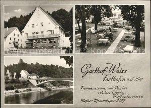 Ferthofen Gasthaus Weiss Kat. Memmingen
