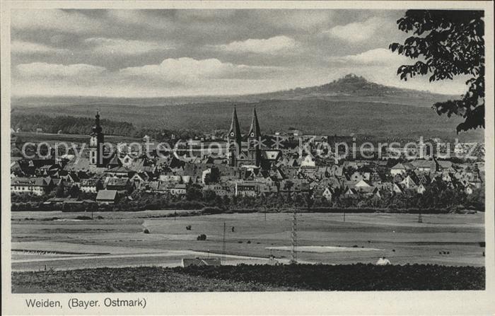 Weiden Oberpfalz Ortsansicht Kat. Weiden i.d.OPf.