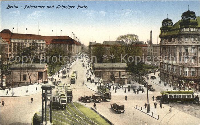 Berlin Potsdamer Leipziger Platz Kat. Berlin