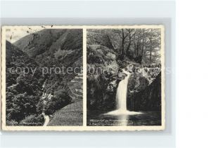 Trechtingshausen Morgenbachtal Wasserfall  Kat. Trechtingshausen