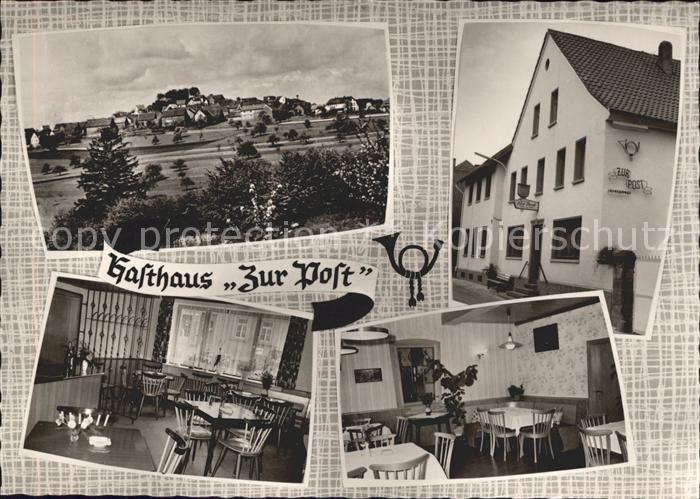 Ruppertsecken Gasthaus Zur Post Kat. Ruppertsecken