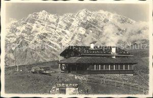 Berchtesgaden Gotzenalm mit Watzmann Kat. Berchtesgaden