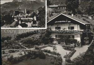 Berchtesgaden Ortsansicht mit Landhaus Englbrecht  Kat. Berchtesgaden