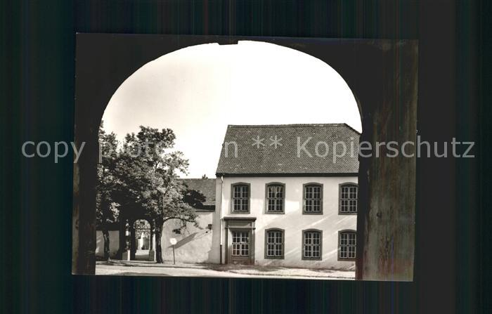 Saarlouis OT Fraulautern Altes Kloster Torbogen Kat. Saarlouis