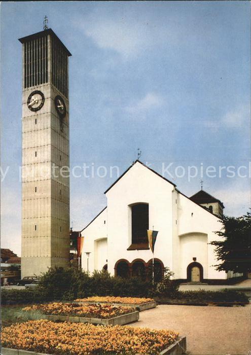 Saarlouis OT Fraulautern Kirche zur hl Dreifaltigkeit Kat. Saarlouis