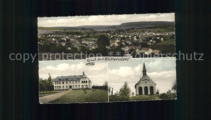 Lebach Huettersdorf Kirche  Kat. Lebach