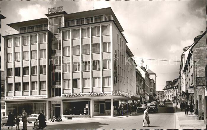 Pirmasens Blick Hauptstrasse  Kat. Pirmasens