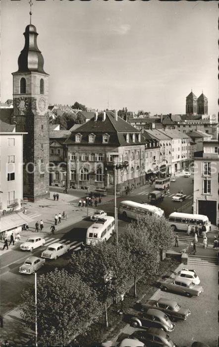 Pirmasens Blick Johanneskirche Kat. Pirmasens