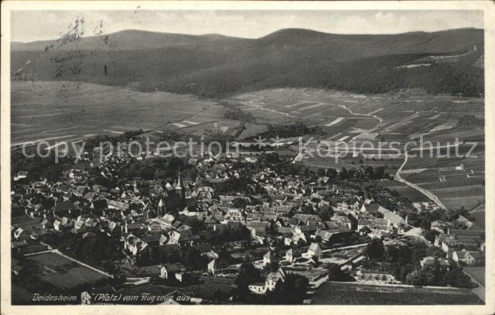 Deidesheim Fliegeraufnahme Kat. Deidesheim