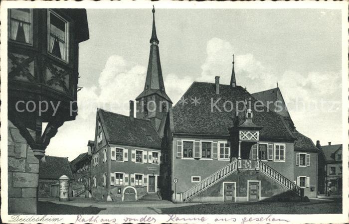 Deidesheim Gasthaus Kirche Kat. Deidesheim