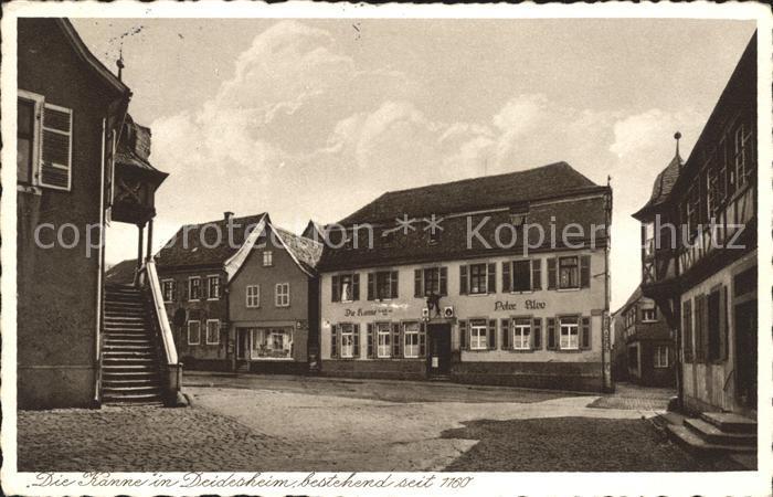Deidesheim Gedicht die Kanne Peter Klee Kat. Deidesheim
